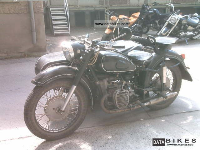 1964 Other  Molotov K 750 Motorcycle Combination/Sidecar photo