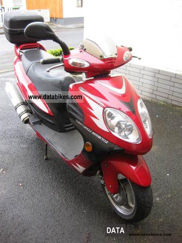 2008 Other  Hisun HS 150 T-2 Motorcycle Scooter photo