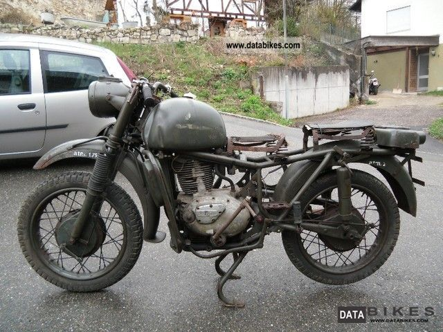 Other  Bianchi, MT 61 No military Moto Guzzi 1961 Vintage, Classic and Old Bikes photo