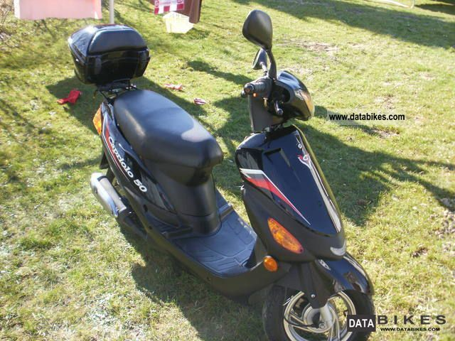 2004 Other  Jinan Capriolo 50 Motorcycle Motor-assisted Bicycle/Small Moped photo