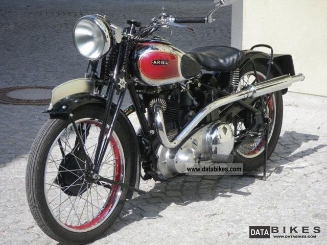 Other  ARIEL RED HUNTER 1938 Vintage, Classic and Old Bikes photo