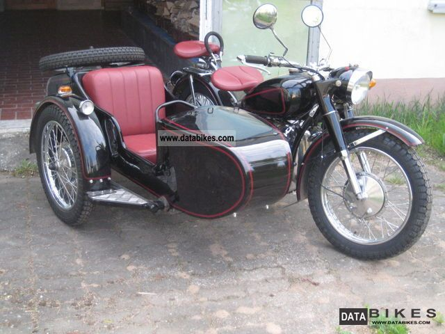 1970 Other  Nanchang CJ 750 Ural M72 R71 Motorcycle Combination/Sidecar photo