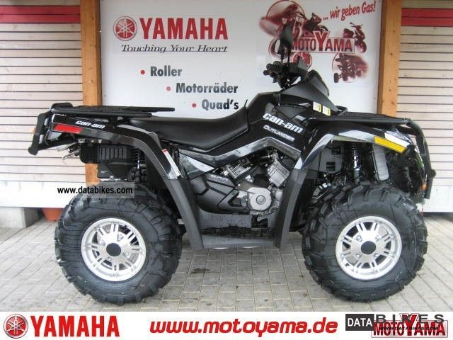 2011 Other  CAN AM Outlander 500 XT 4WD, new model - 2012 Motorcycle Quad photo