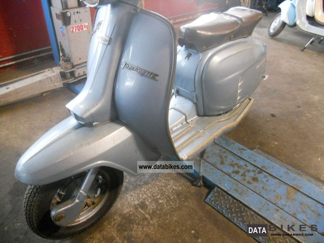 Other  Lambretta LIS special blue 125 1967 Vintage, Classic and Old Bikes photo
