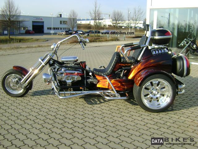 Automatic V8 Trike Motorcycles Autos Post