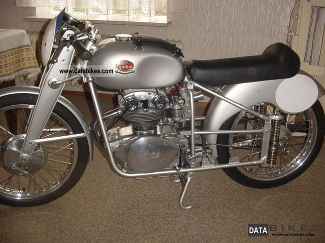 Other  Mondial Monoalbero 125 1952 Vintage, Classic and Old Bikes photo