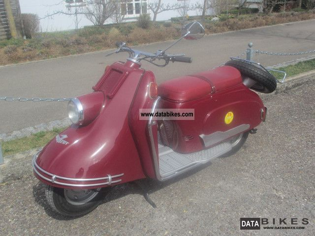 Other  Heinkel Roller Tourist 103 A-0 1957 Vintage, Classic and Old Bikes photo