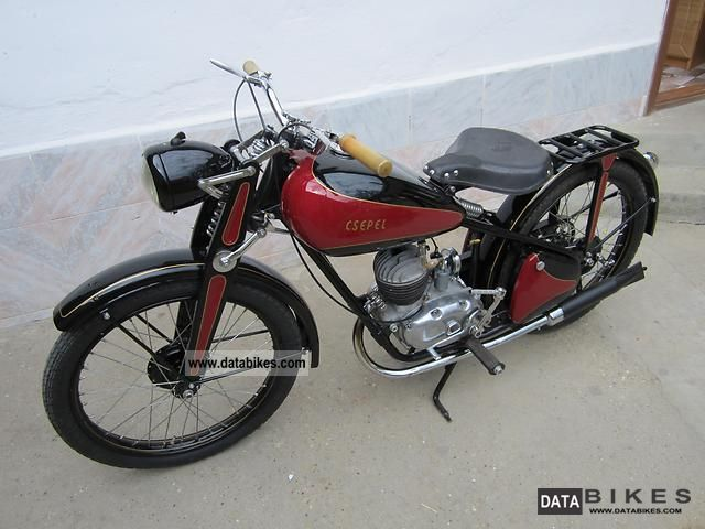 Other  Csepel 1949 Vintage, Classic and Old Bikes photo