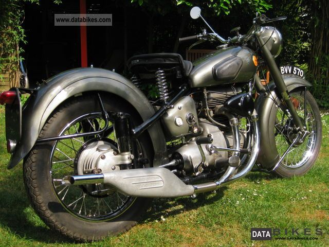 Other  Sunbeam S8 Sports 1950 Vintage, Classic and Old Bikes photo