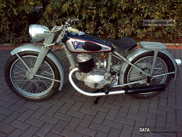 Other  Victoria KR 25 1950 Vintage, Classic and Old Bikes photo