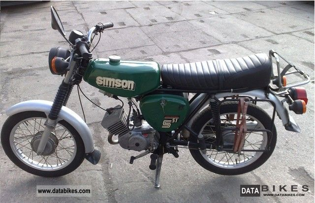 1985 Other  Simson S51 Best Original electronic state Motorcycle Motor-assisted Bicycle/Small Moped photo