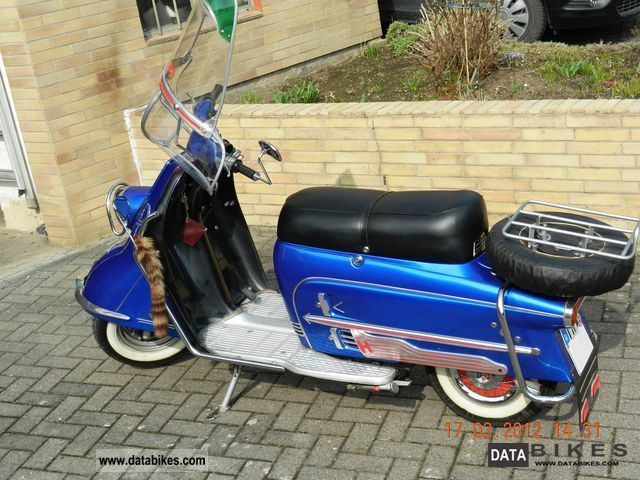 Other  Heinkel Tourist 103 A 2 1960 Vintage, Classic and Old Bikes photo