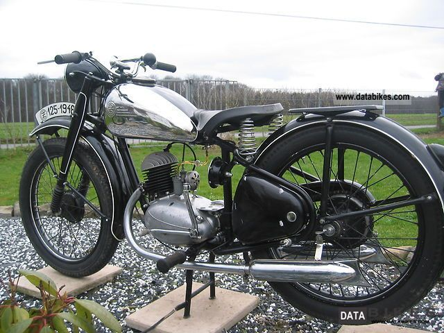 Other  CZ 125 1948 Vintage, Classic and Old Bikes photo