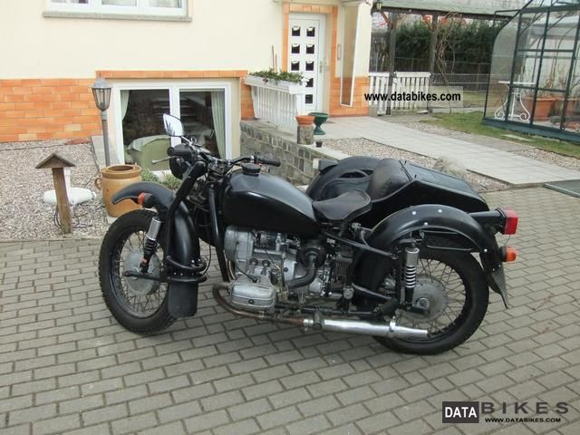 1993 Other  dnepr Motorcycle Combination/Sidecar photo