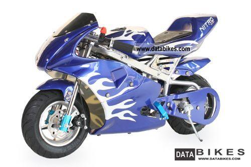 2012 49cc Pocket Bike Racing Bike Nitro Special