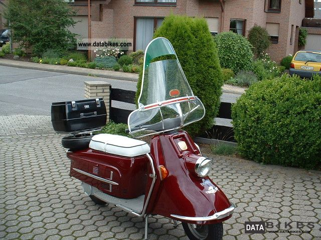 Other  Heinkel Tourist 103 A2 1962 Vintage, Classic and Old Bikes photo