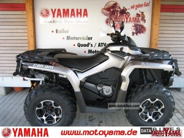 Other  CAN AM Outlander XT 1000, new model - 2012! 2011 Quad photo