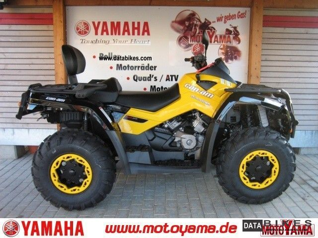 2011 Other  CAN AM Outlander 800 MAX XT, new model - 2012 Motorcycle Quad photo