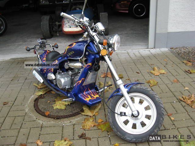 Pin Street Legal Mini Choppers 125cc Motorcycle Pictures