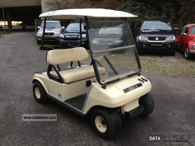 Other  Club CAR golf cart with charger 2007 Electric Motorcycles photo