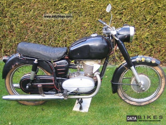 1957 Other  250cc Pannonia TLT Motorcycle Motorcycle photo