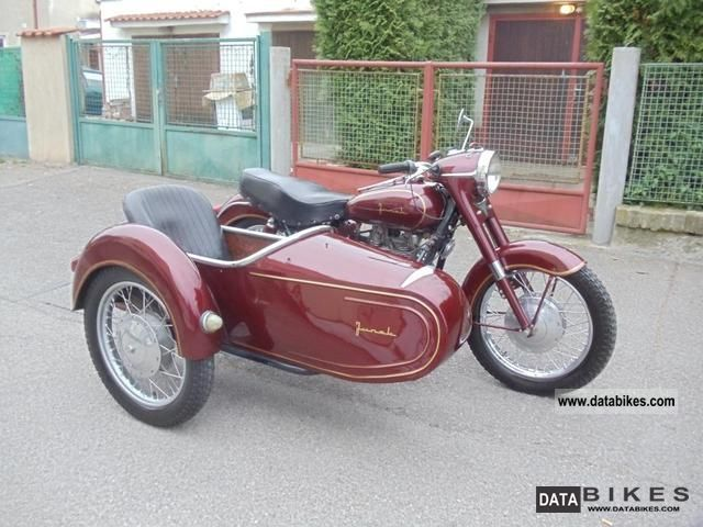 Other  Junak M10 with side 1962 Vintage, Classic and Old Bikes photo
