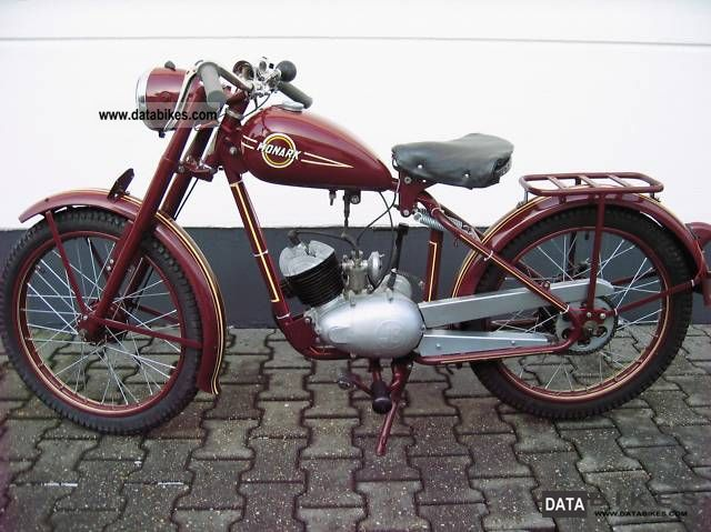 Other  Monark 128 (M 276) 1952 Vintage, Classic and Old Bikes photo