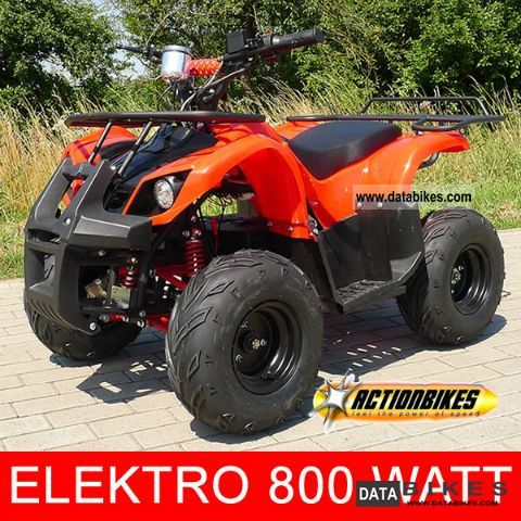 Other  Kids Quad S-8 800 Watt electric Farmer 2011 Electric Motorcycles photo