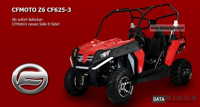 2011 Other  CF Moto Z6 4x4 625-3 Motorcycle Quad photo