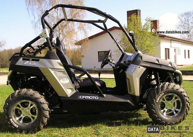 Bmw X6 Bike >> 2011 CF Moto Z6 4x4 625-3