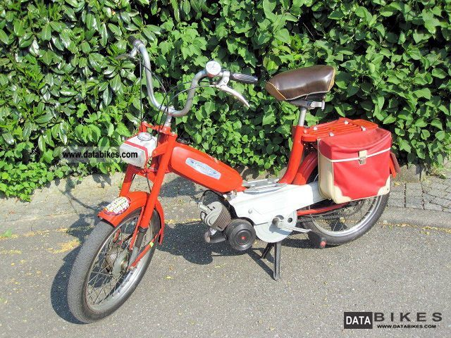 Other  Garelli Monza Moped EUROPED super luxury 1971 Vintage, Classic and Old Bikes photo