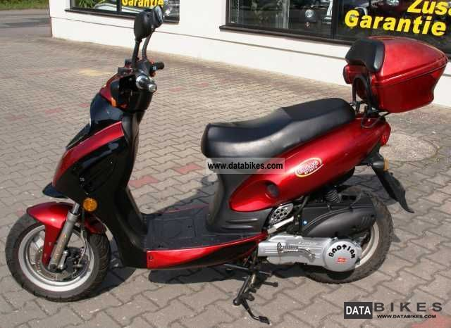 2006 Other  ERING BT 125 80 km / h Motorcycle Scooter photo
