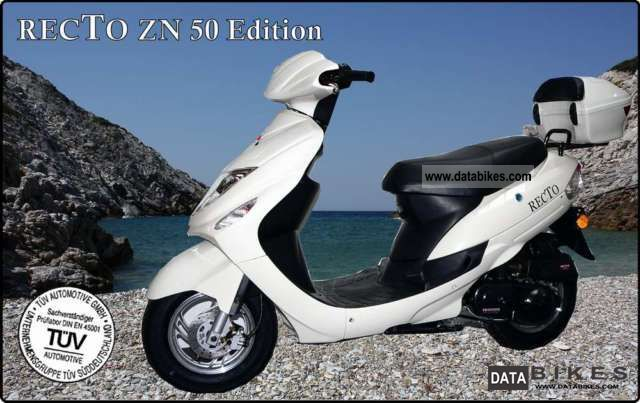 2011 Other  RECTO EDITION ZN 50 EEC 25 or 45 km / h or 45 Motorcycle Scooter photo