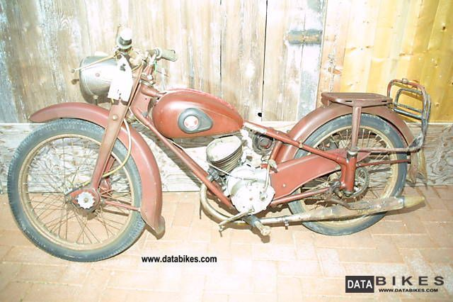 Other  Adler M 100 luxury 1951 Vintage, Classic and Old Bikes photo