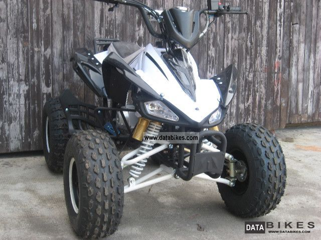 2011 Other  Quad 125cc 4-speed with reverse Motorcycle Quad photo