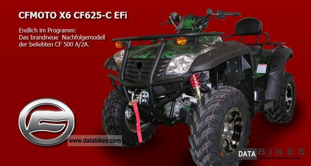 2011 Other  CF Moto 625 EFI 4x4 X6 long Motorcycle Quad photo
