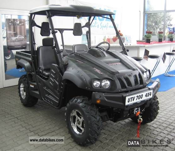 2011 Other  UTV 700 4x4 trucks, winch, comfort package Motorcycle Quad photo