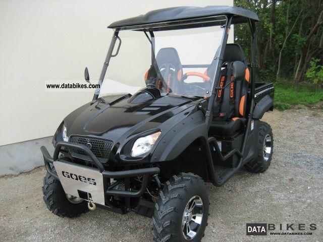 GOES  G 520 el UTX LTD * tilting Ladefl. / sports seats * 2012 Quad photo
