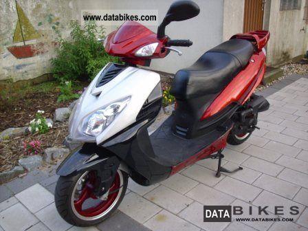 2008 Zhongyu  ZN 50 digital speedometer Motorcycle Scooter photo