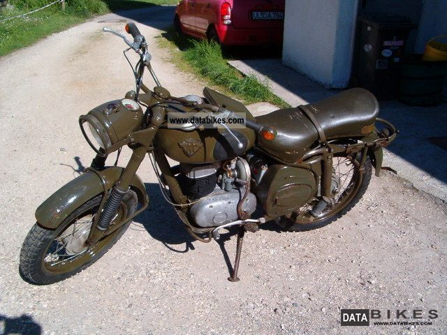 Maico  M250/T3 Military / BW version 2.Hand!!! 1960 Vintage, Classic and Old Bikes photo