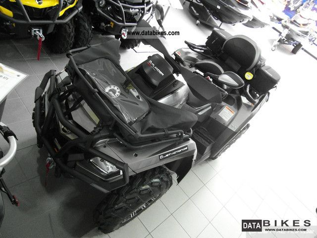 2012 BRP  Can Am Outlander Max 800R Limited LTD Motorcycle Quad photo