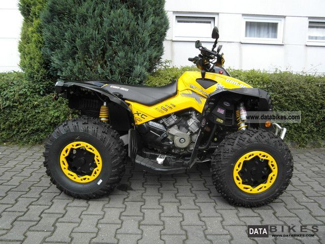 2011 BRP  Can Am Renegade 800R XXC Motorcycle Quad photo