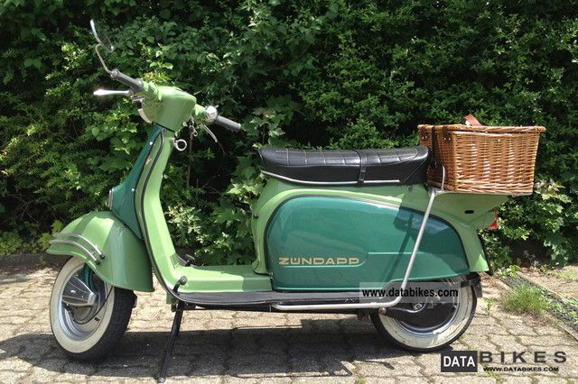 1978 Zundapp  Zündapp R50 Motorcycle Scooter photo