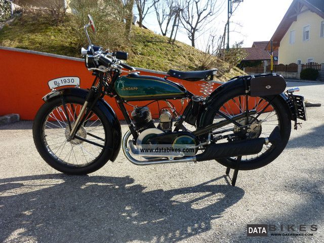 Zundapp  Zundapp Z300 1930 Vintage, Classic and Old Bikes photo
