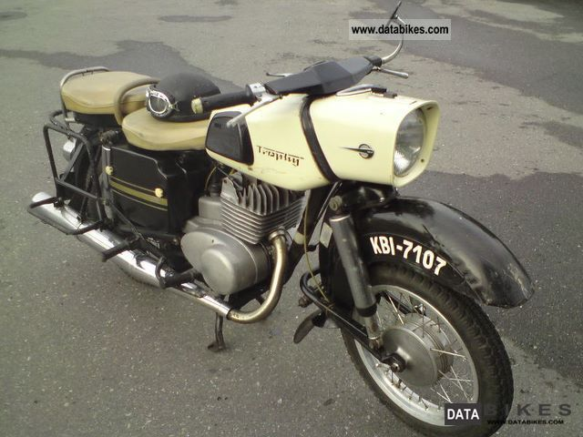 Mz  Trophy ES 250/2 1970 Vintage, Classic and Old Bikes photo
