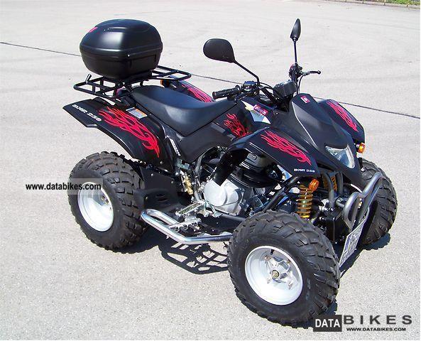 2010 Derbi  DXR 250 (driving license) Motorcycle Quad photo