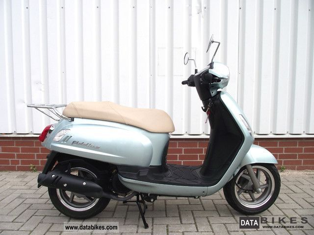 2008 SYM  Fiddle 125 Motorcycle Scooter photo