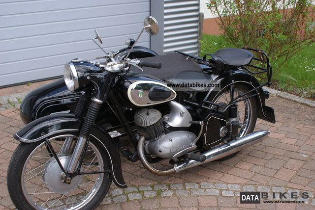 DKW  RT 250/2 Duo 1955 Vintage, Classic and Old Bikes photo