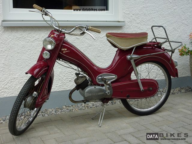 1958 DKW  Hummel Luxury Motorcycle Motor-assisted Bicycle/Small Moped photo