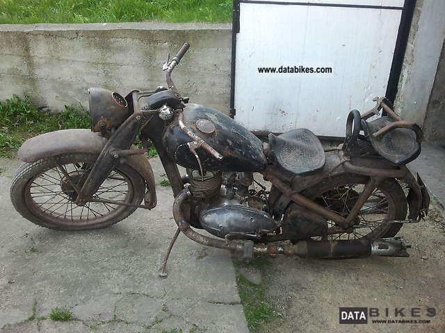 DKW  IZ 350, IZH 1950 Vintage, Classic and Old Bikes photo